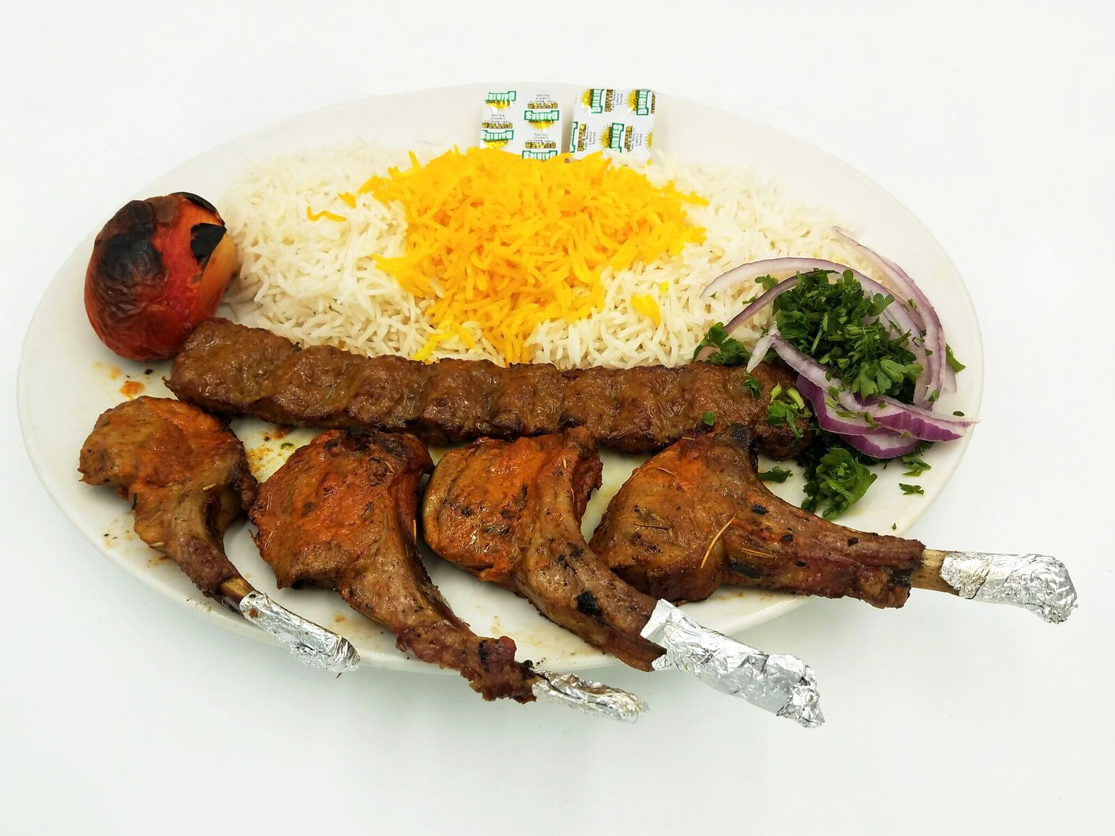 Shish Leek / Rack of Lamb $24.00