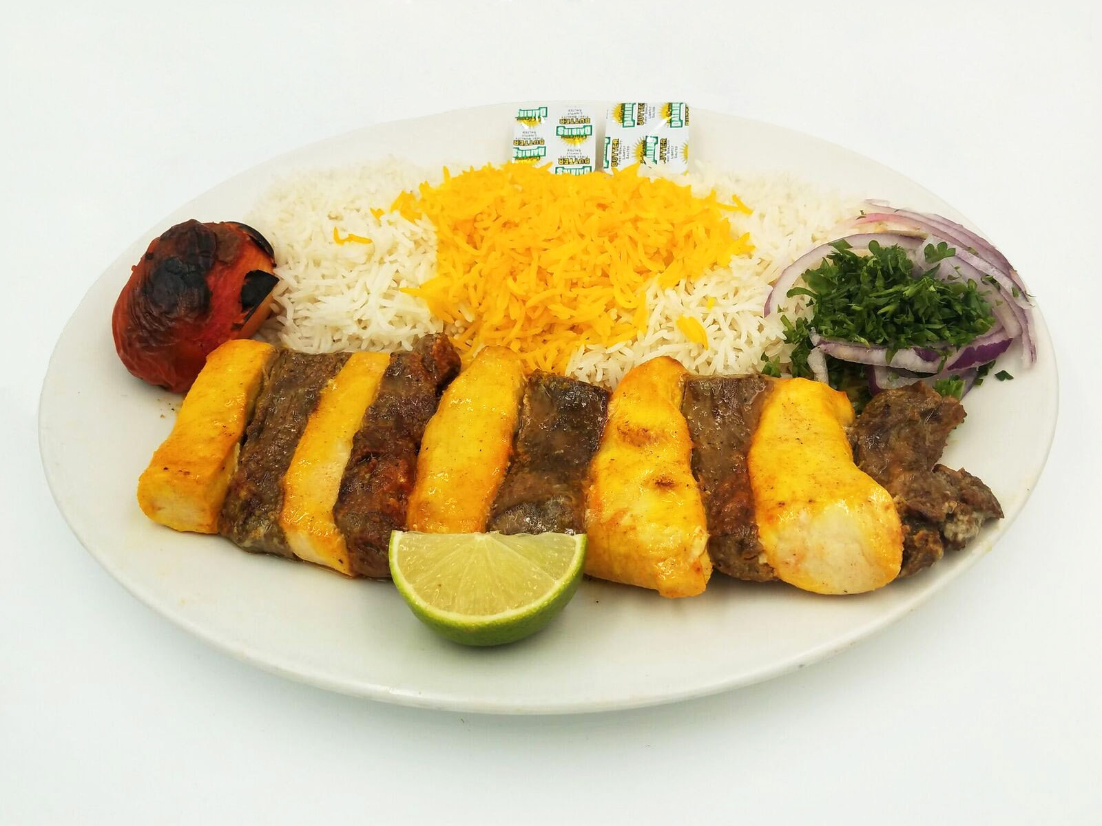 Mix Kabob $22.00