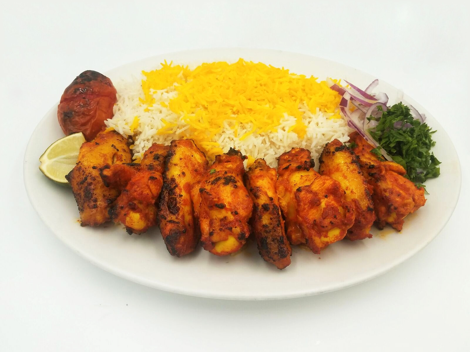 Chicken Wings Kabob $16.00