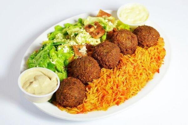 Falafel Plate $12.00