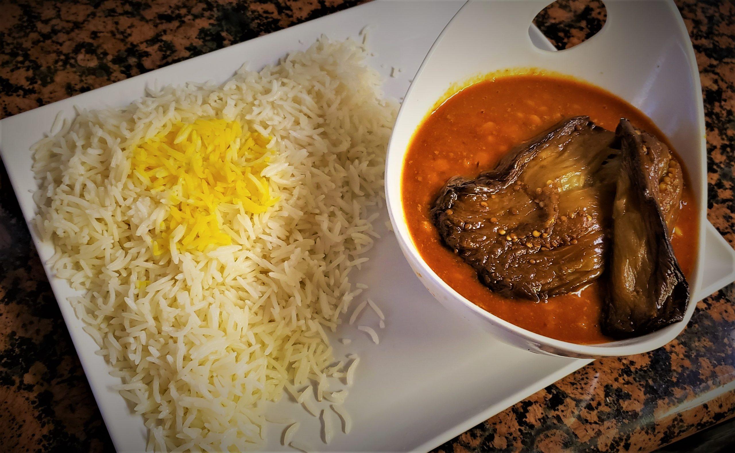 Eggplant Gheymeh Stew